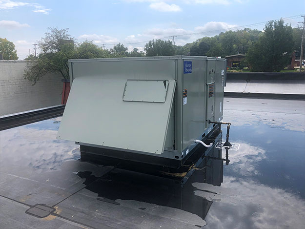 New Commercial HVAC on Rooftop 2