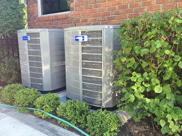 Installed Two-Stage Air Conditioning Systems