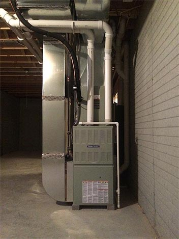HVAC Installation in Newly-Constructed Home